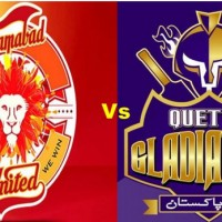 Quetta Gladiators and Islamabad united