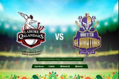 Quetta Gladiators and Lahore Qalandar