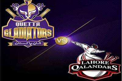Quetta Gladiators and Lahore Qalandar