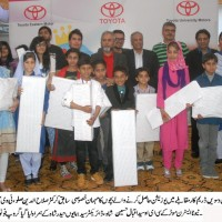 Schools Children Between Tenth Dream Car Competition