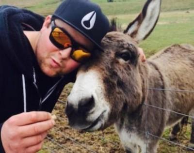 Selfie with Donkey