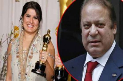 Sharmeen Obaid Chinoy and Nawaz Sharif