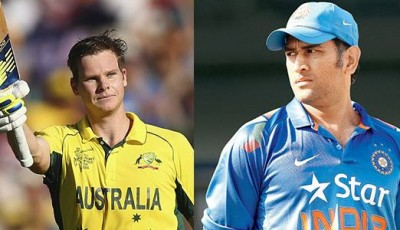 Steve Smith and Dhoni