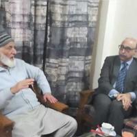Syed Ali Gilani and Abdul Basit