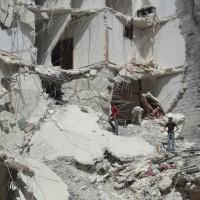 Syria Hospital Blast