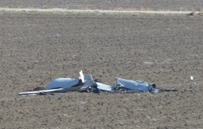 US Drone Crashed