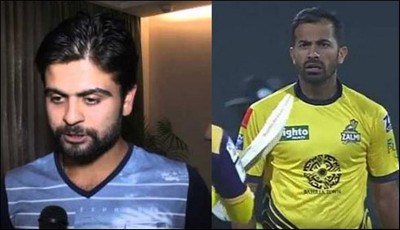 Wahab Riaz and Ahmed Shehzad