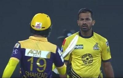 Wahad Riaz and Ahmed Shehzad
