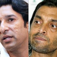 Wasim Akram and Shoaib Akhtar