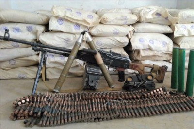 Weapons Drugs Recovered