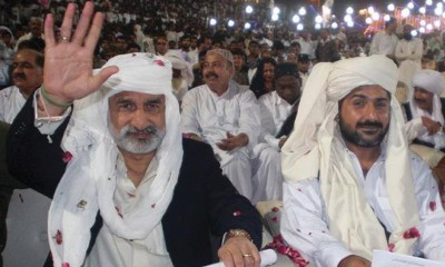 Zulfiqar Mirza with  Uzair Baloch