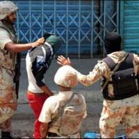 karachi 74 Arrest
