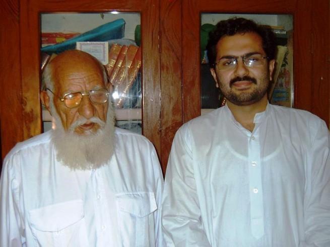 Allama Ya'qoob Shah Haedari with Dr. Ali Abbas Shah