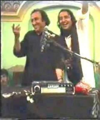 Allama Irfan Abdi and Mohsin Naqvi