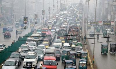 Abbottabad traffic