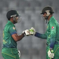 Akmal and Shoaib Malik