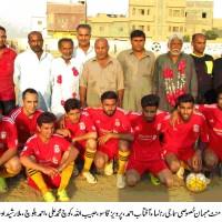 All Karachi Sharafi star Challenge Cup football Tournament