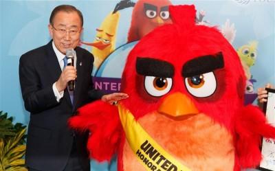 Angry Birds Premier Ban Ki-moon
