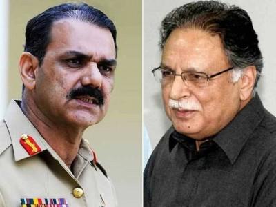 Asim Bajwa and Pervez Rashid