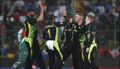 Australia Win Against Bangladesh