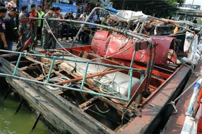Boat Engine Explosion