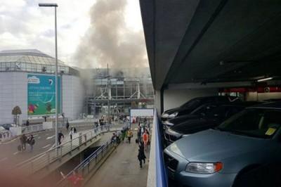 Brussels Airport Blast