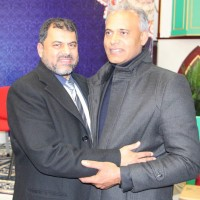 Chaudhry Mohammad Azam and Tahir Abbas