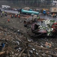China Truck Explosion