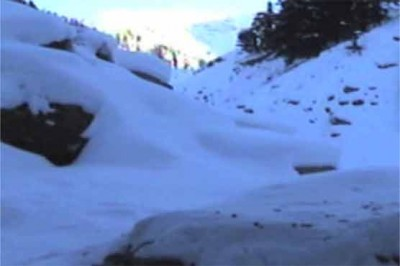 Chitral, landslides