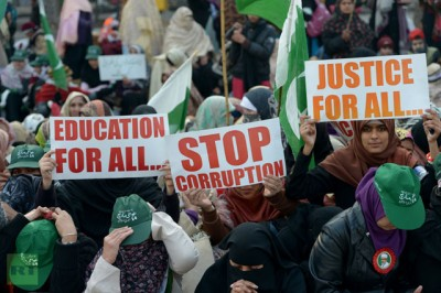 Corruption Protest