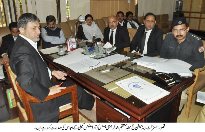 Criminal Justice Coordination Committee Meeting