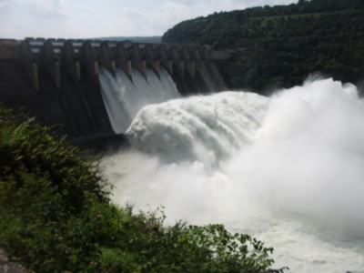Dams Water Levels Rise