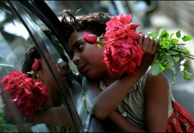 Flower Sellers Child