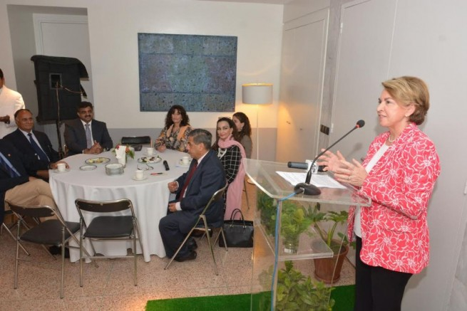 France Embassy Women's Day Ceremony