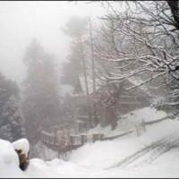 Gilgit Baltistan Snowfall
