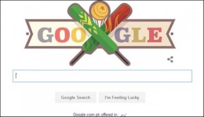 Google Doodle Pakistan VS Banglades