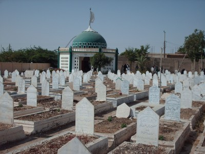 Graveyard in Karachi