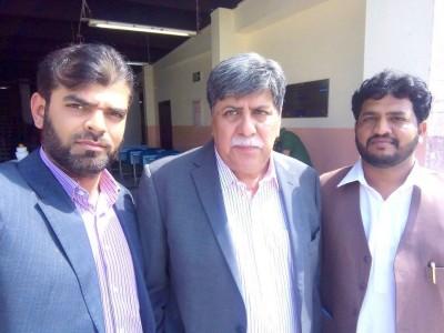 Haseeb Ejaz aashir, Asger Nadeem and Akhtar Sardar