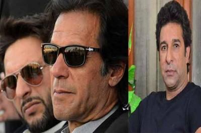 Imran, Waseem and Afridi