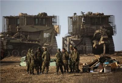 Israeli Army Bulldozers