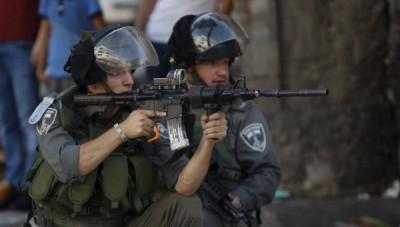 Israeli Forces Firing