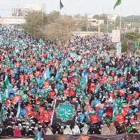 Jamat islami Ashqan Rasool Million March