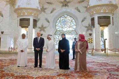 Joe Biden Visit Sheikh Zayed Mosque