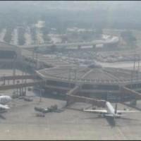 Karachi Air port Small Plane Down
