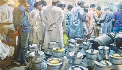 Karachi Milk Seller