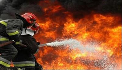 Karachi, factory fire