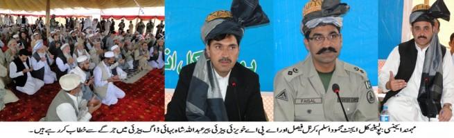 Khwaizai Baizai Sub Division Qaumi Jirga Mohmand Agency FATA