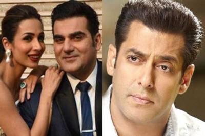 Malaika, Arbaz and Salman