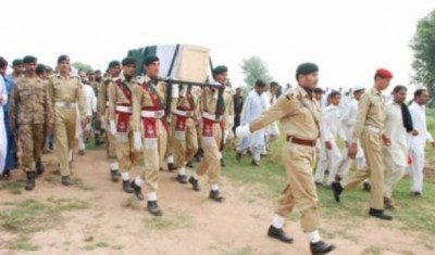 Martyred Soldier of operation Zarb-e-Azb