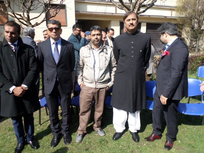 Mohammad Faisal, Sheikh Baber with Friends